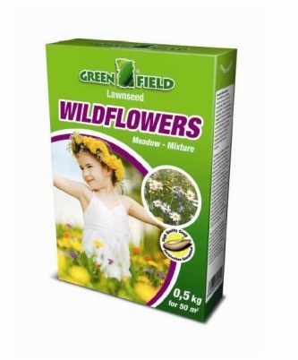 Wildflowers Meadow Mixture 0.5kg certified seed Lawn Collection