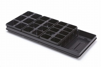 Normset Carry Tray with Packs Growers Collection > - Packs