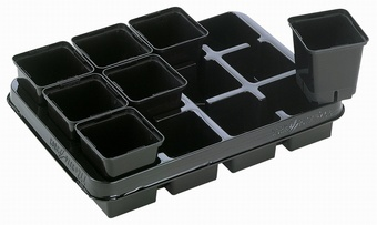 Plaque 28 Growers Collection > - Marketing Trays