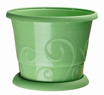 Volutes pot 3.3 Litre Planters Collection > - CEP Collection