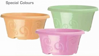 Special Colours Personalised Pots