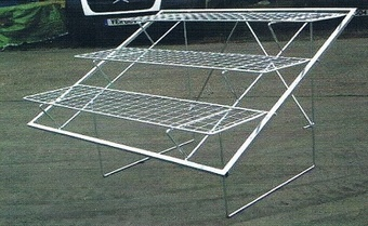 Hampshire Three Tier Folding Display Bench Equipment