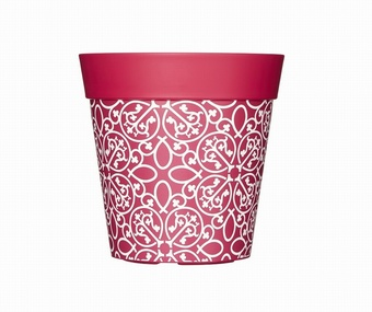 Pink Lattice Planter Planters Collection > - Hum Collection
