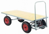 Centurion 4 Wheel Traditional Staff Trolly
