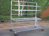 Banbury Mobile Display Bench
