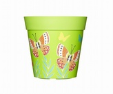 Green Butterflies Planter