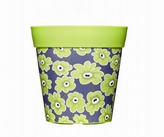 Green Floral Planter