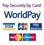 Pay Securely online now with WorldPay